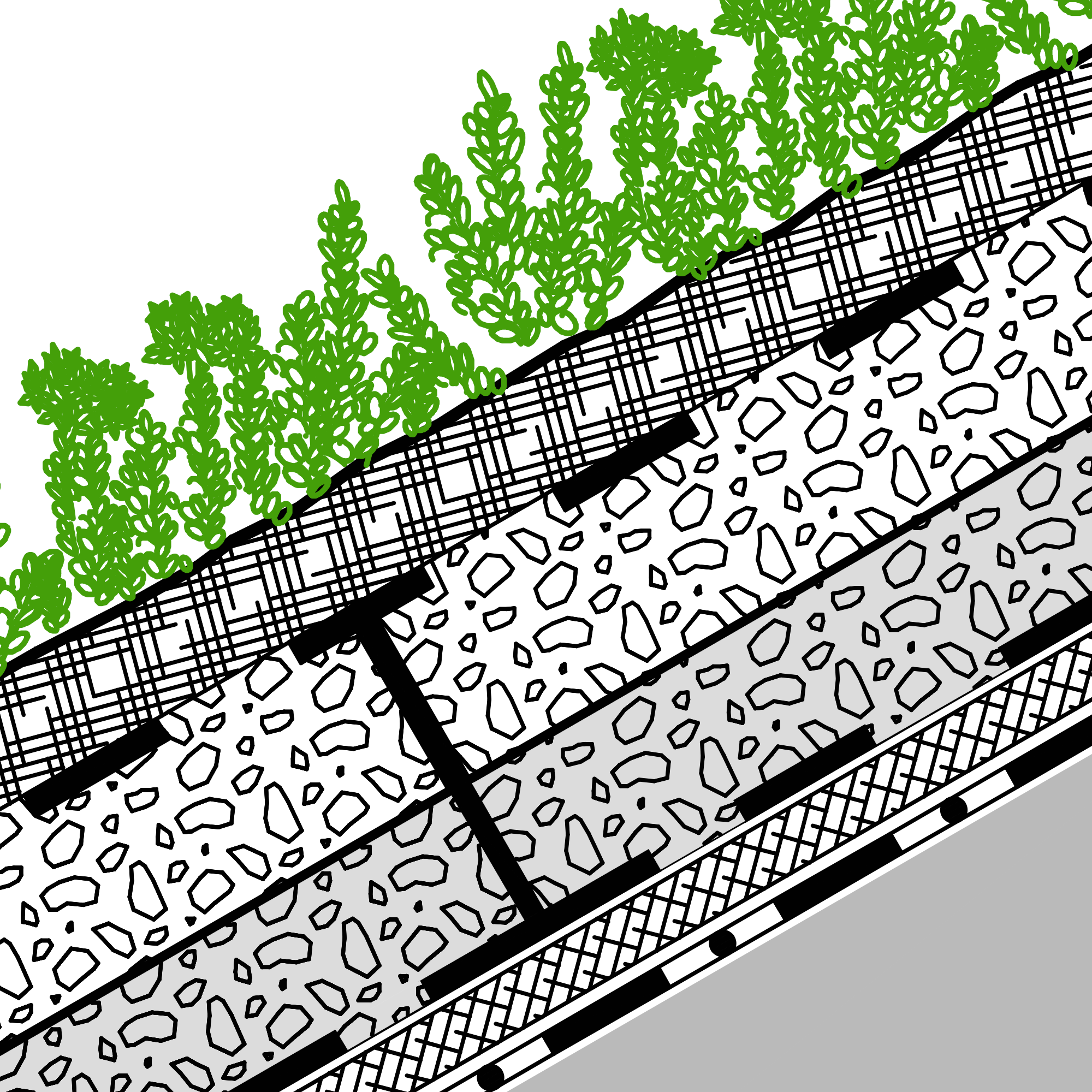 Steep Pitched Green Roofs Up To 35 176 Zinco Green Roof