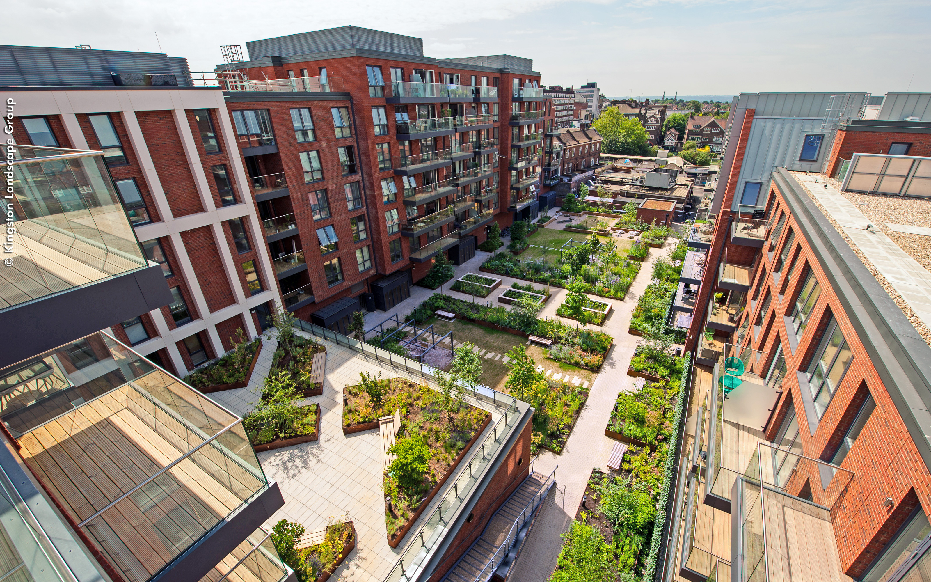 Streatham Hill London Zinco Green Roof Systems Uk