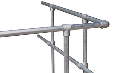 Balustrade Railing made of galvanized steel
