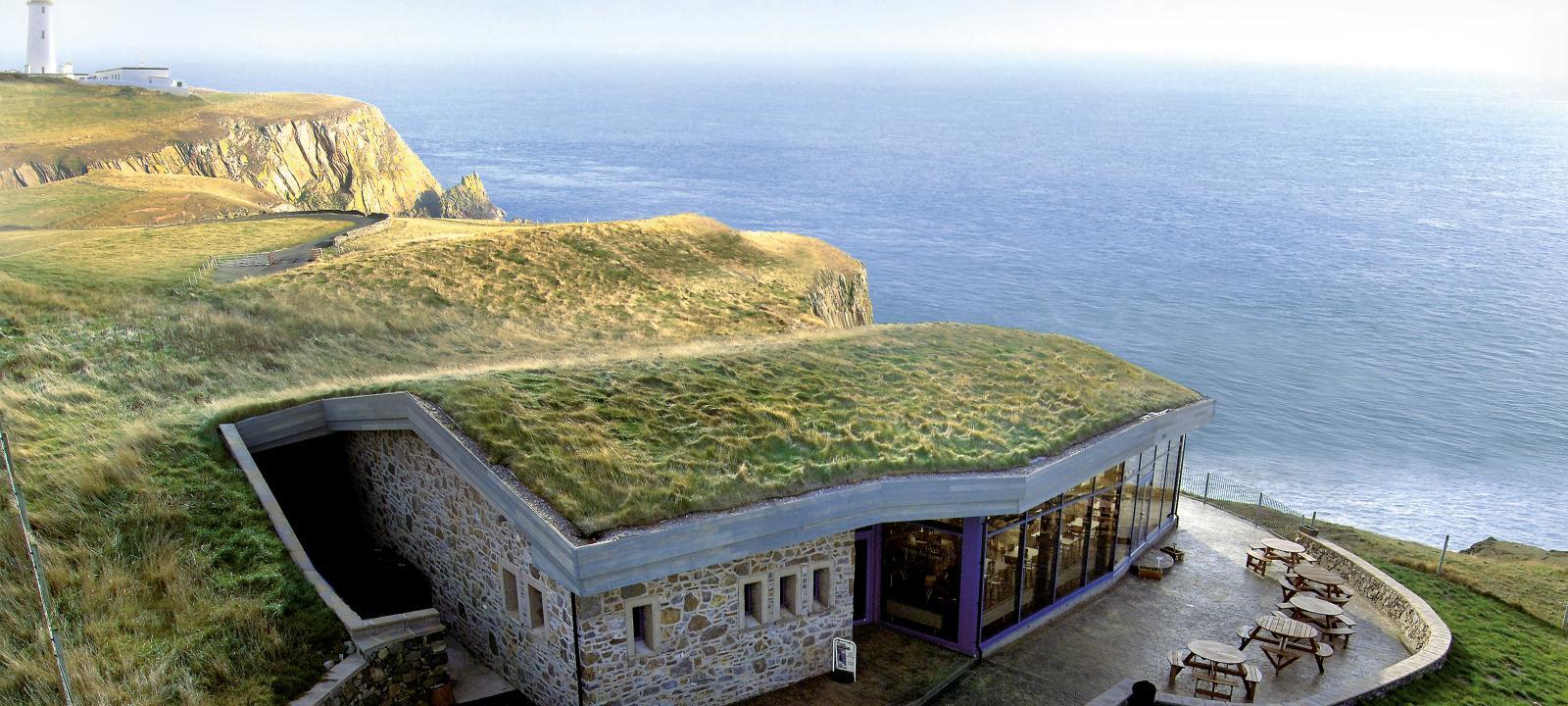 Gallie Craig Coffee House Scotland Zinco Green Roof