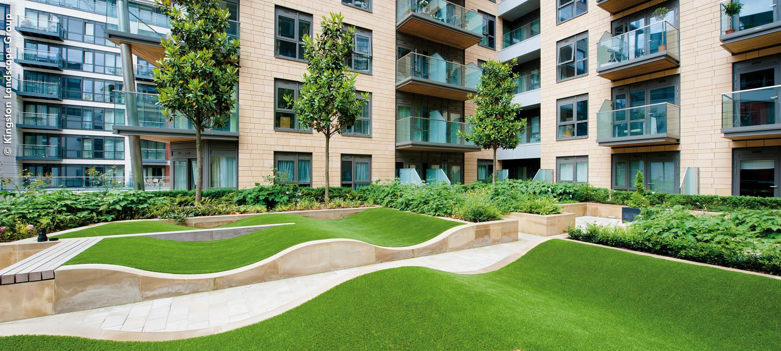 Dickens Yard London Zinco Green Roof Systems Uk
