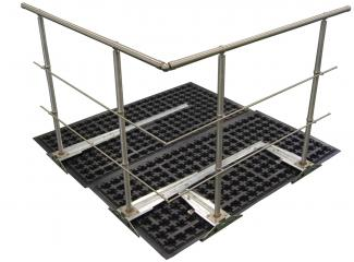 ZinCo Guard Railing Base GB